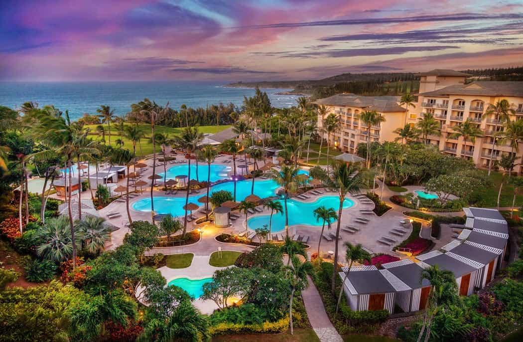 With more luxury resorts like the Ritz-Carlton Kapalua, Maui is more glam than Kauai.