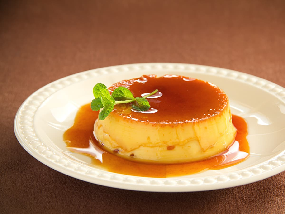 One of the best Croatian desserts is rozata, which is like creme caramel, but made with rose hip liqueur.