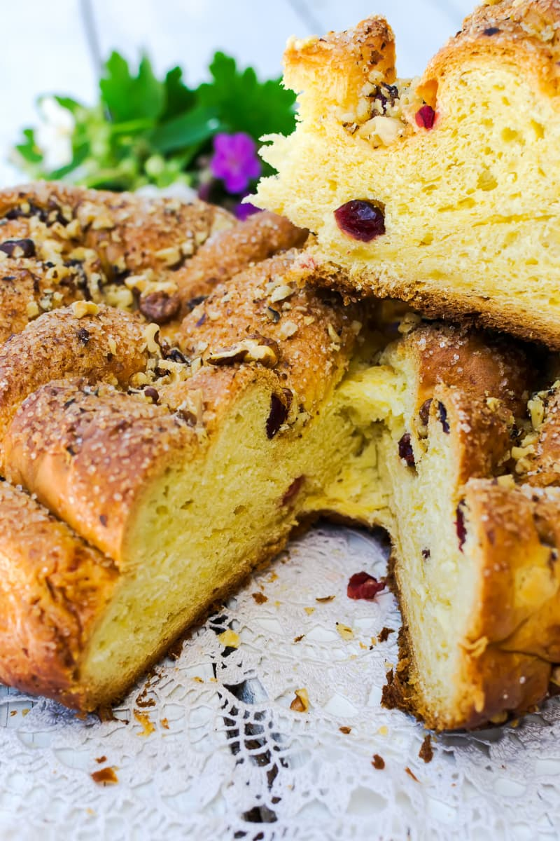 Pinca (also known as sirnica) is a traditional sweet bread prepared for Easter in Croatia.