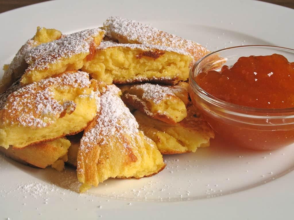 Smarn is a sweet Croatian dessert of torn pancake bits.