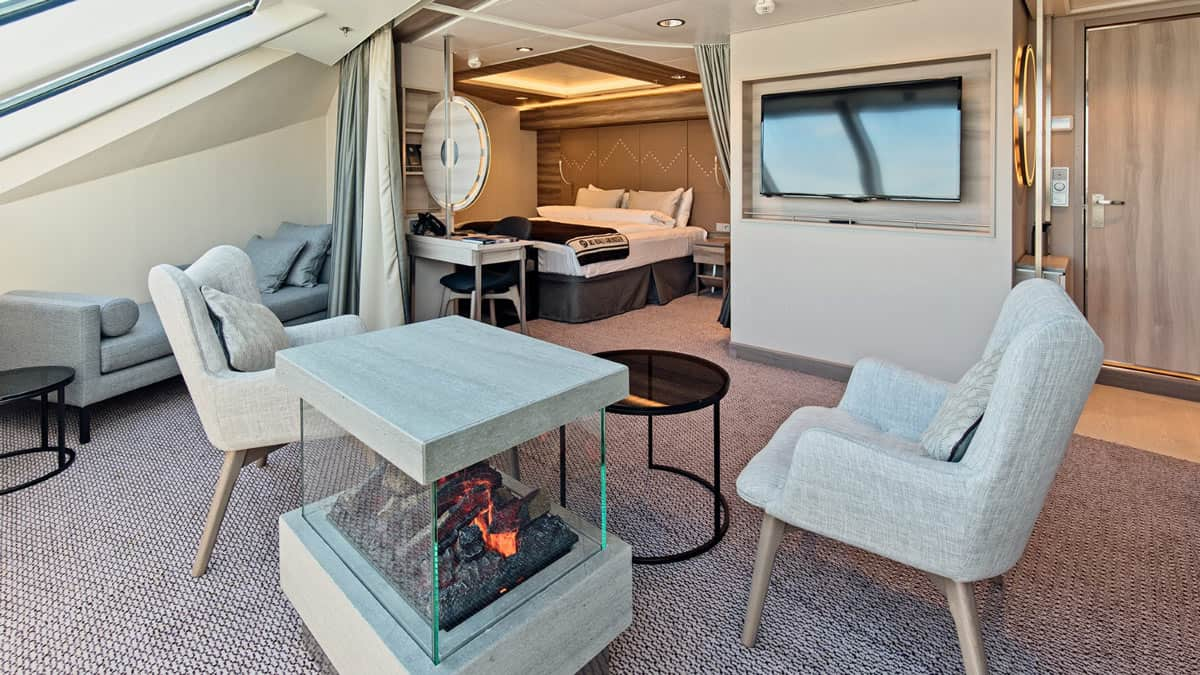 A suite on the MS Fridtjof Nansen