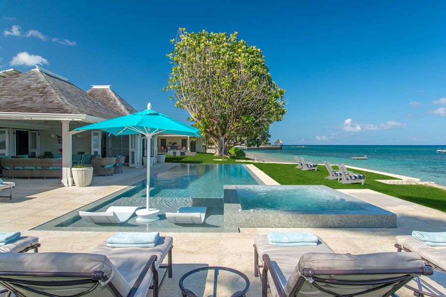 """Your Caribbean home-away-from-home in Jamaica? This is the """"Sunset"""" villa at the Tryall Club."""