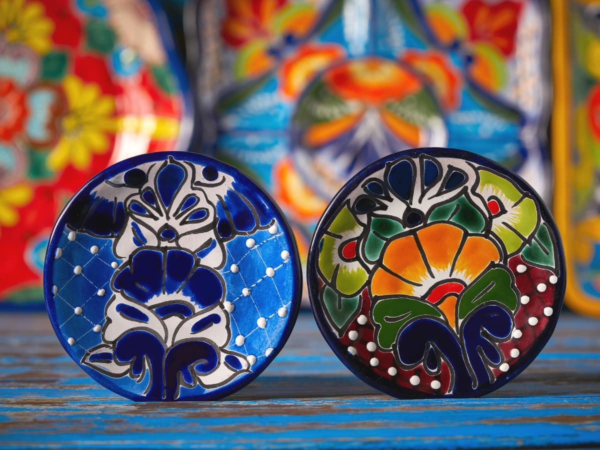The best place to find Talavera pottery in Mexico is in Puebla.