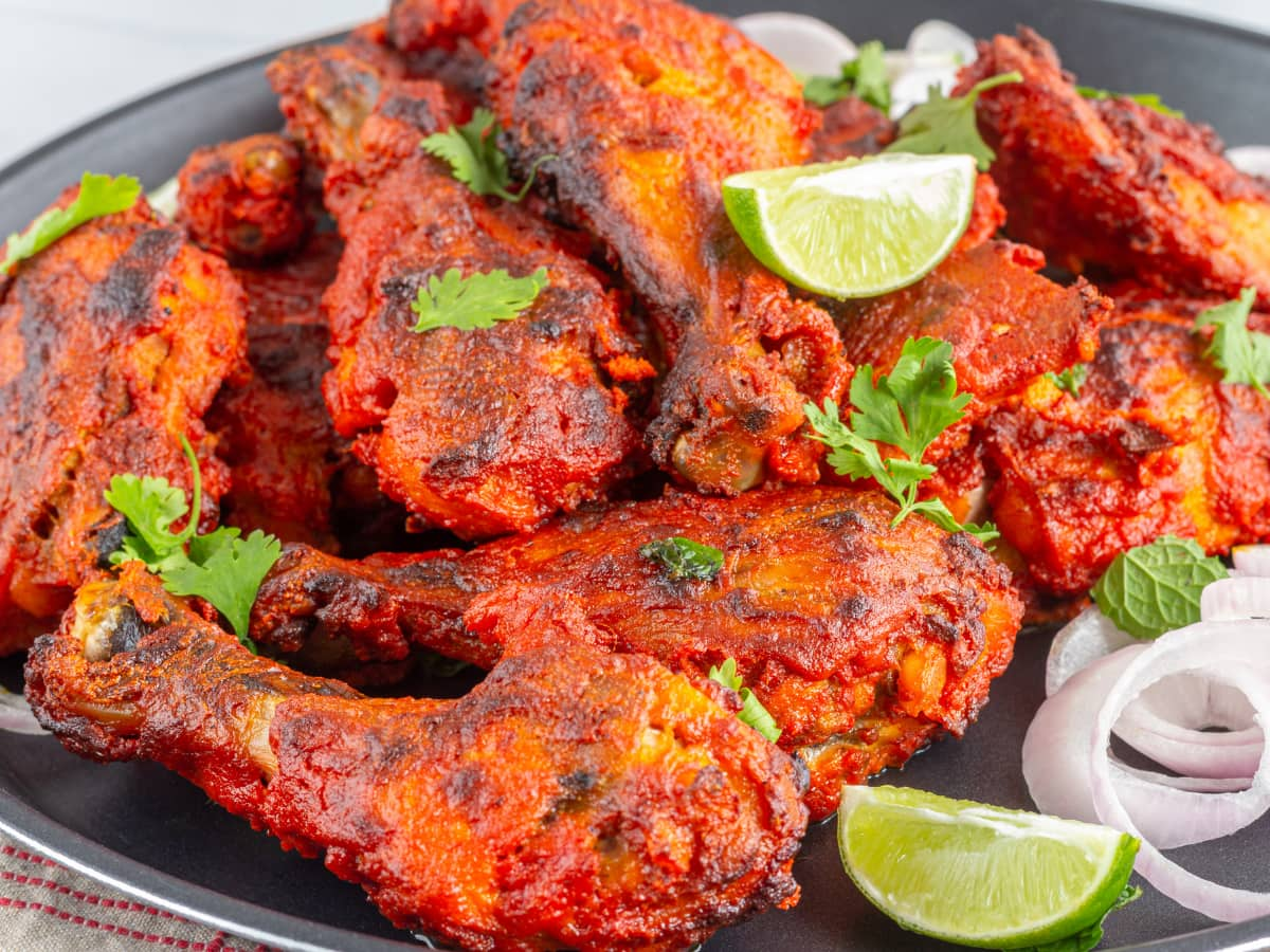 When it comes to famous Indian food, tandoori chicken is at the top of the list!