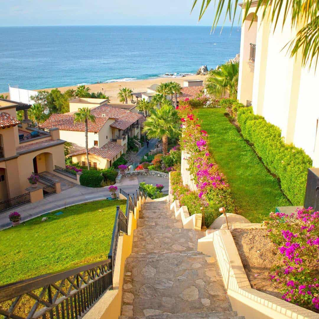 The Pueblo Bonito Sunset Beach is a popular resort in Cabo San Lucas.