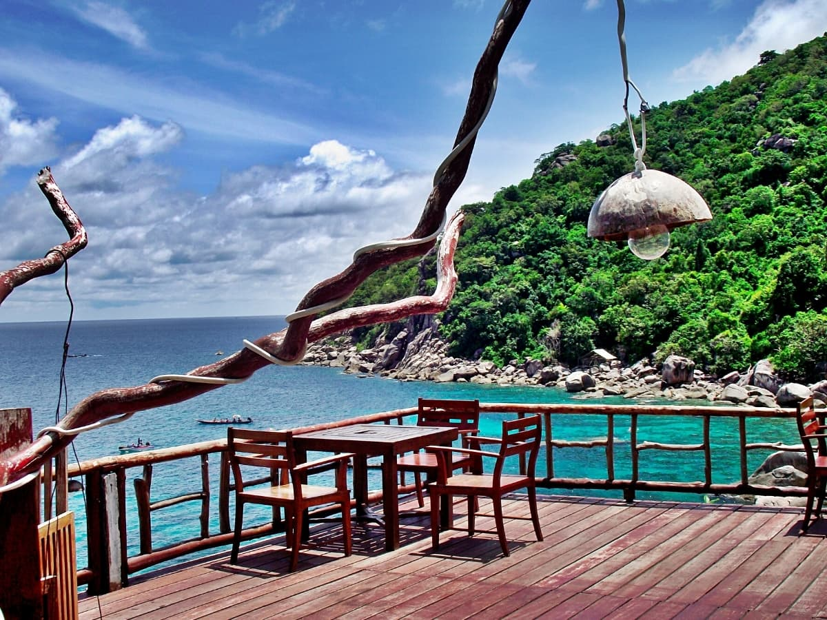 There are some darling boho-chic resorts and bungalows in Koh Tao!
