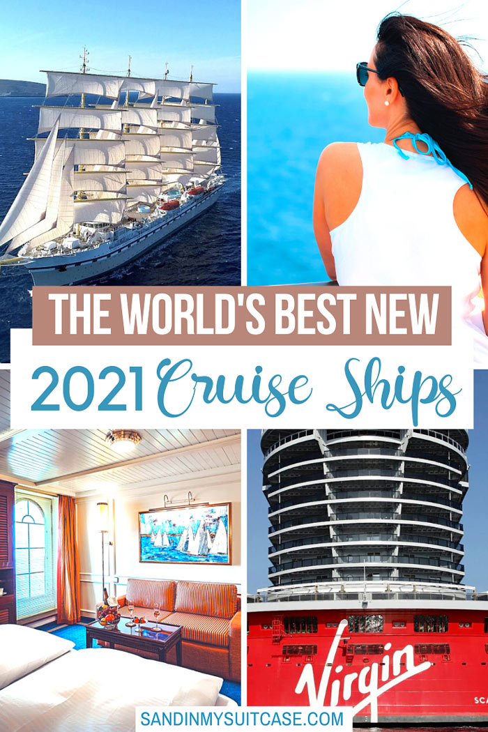 Hop aboard the best new cruise ships for 2021! These new ships take you on the best new cruises in the world!