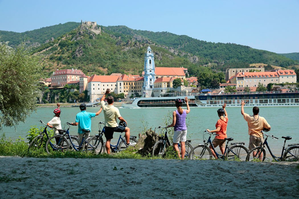 Many of the best river cruises in Europe offer bicycling excursions.