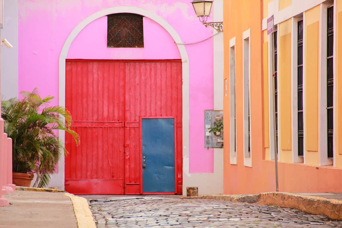 One of the best things to do in Old San Juan? Just walk its cobblestoned streets.