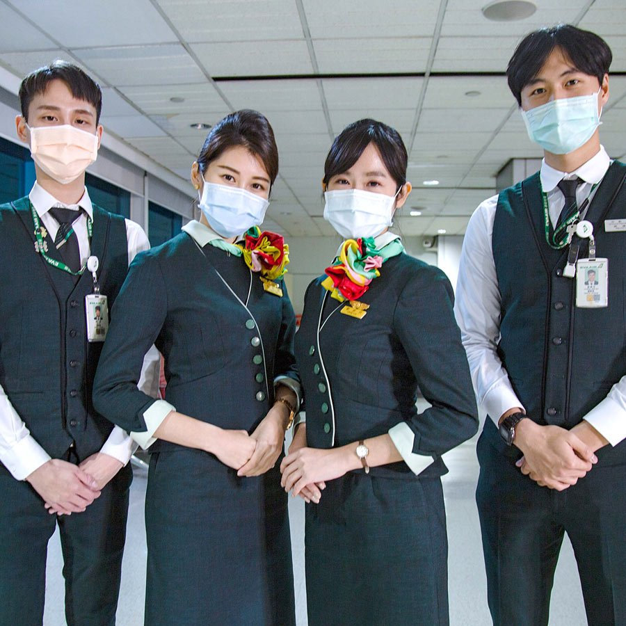 EVA Air has detailed passenger health and safety protocols in place.