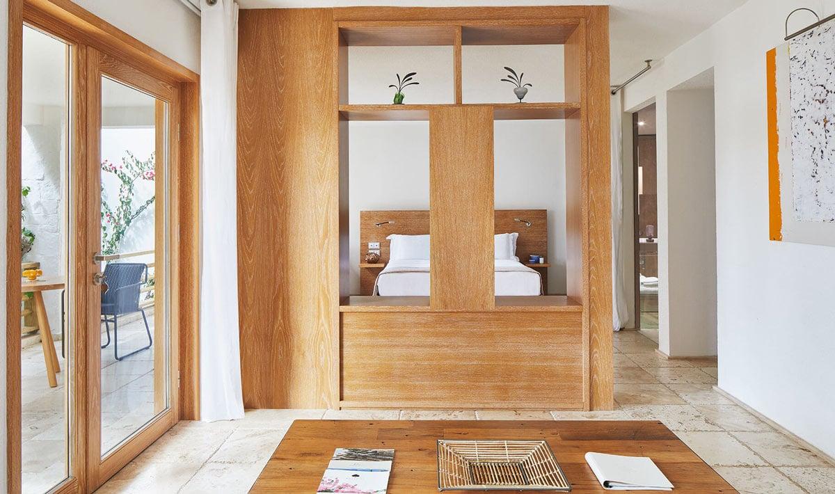 A cool suite at Macakizi, Bodrum