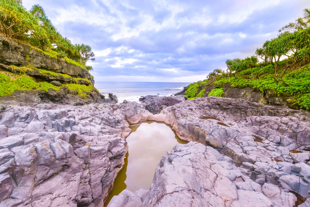 The Seven Sacred Pools are one of the most popular places to see in Maui.