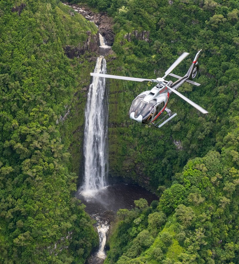 Take a chopper ride for views of hidden Maui waterfalls that can only be seen from the air.