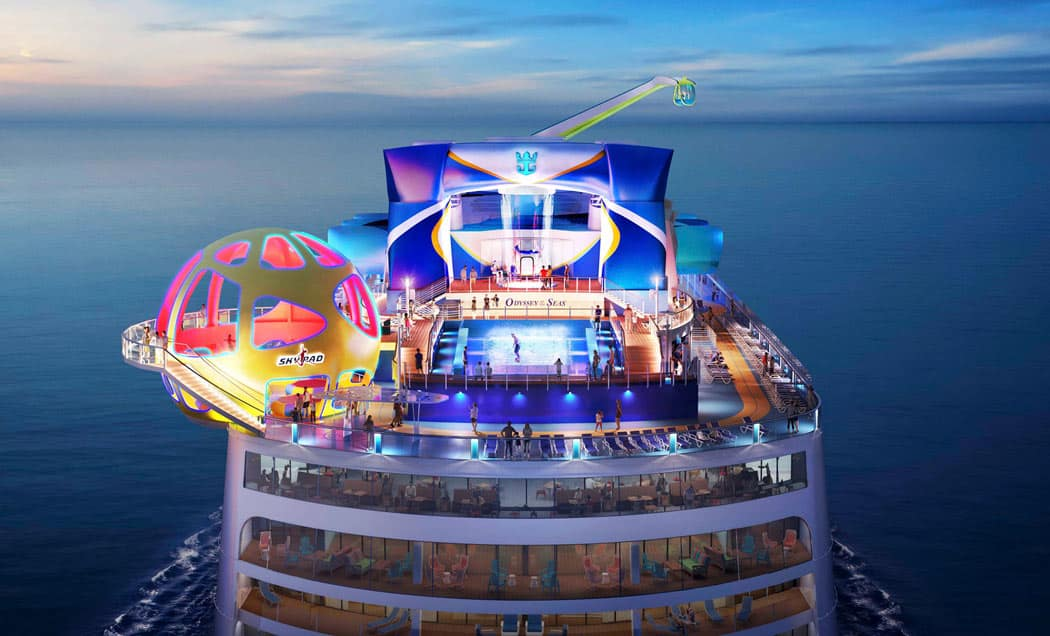 Royal Caribbean's Odyssey of the Seas is built for lots of fun!