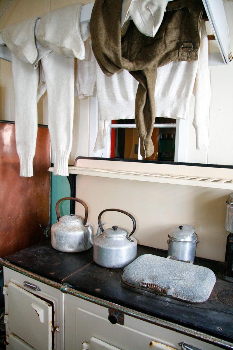 The tiny Port Lockroy museum