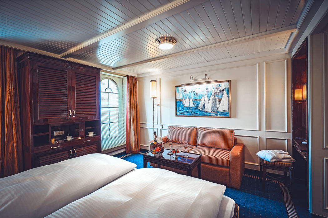 Suite on the new Sea Cloud Spirit