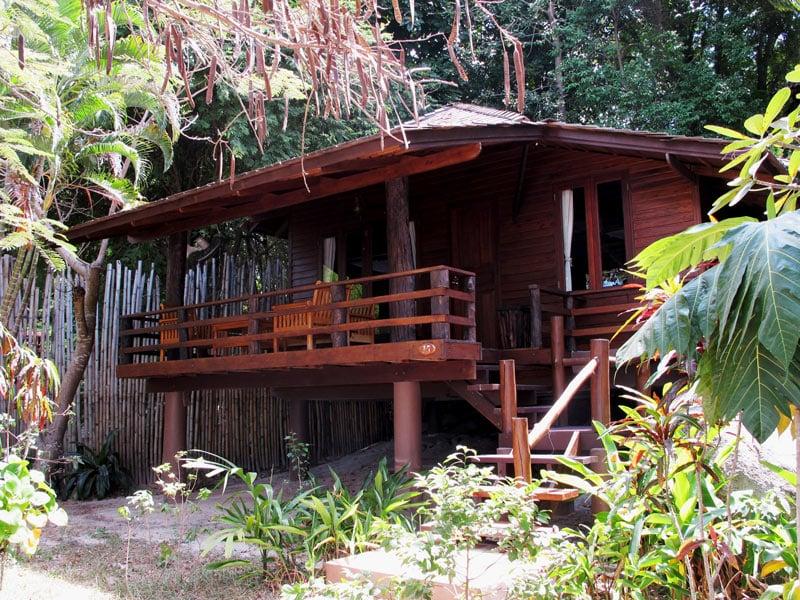 Sensi Paradise Beach Resort has some lovely Koh Tao bungalows.