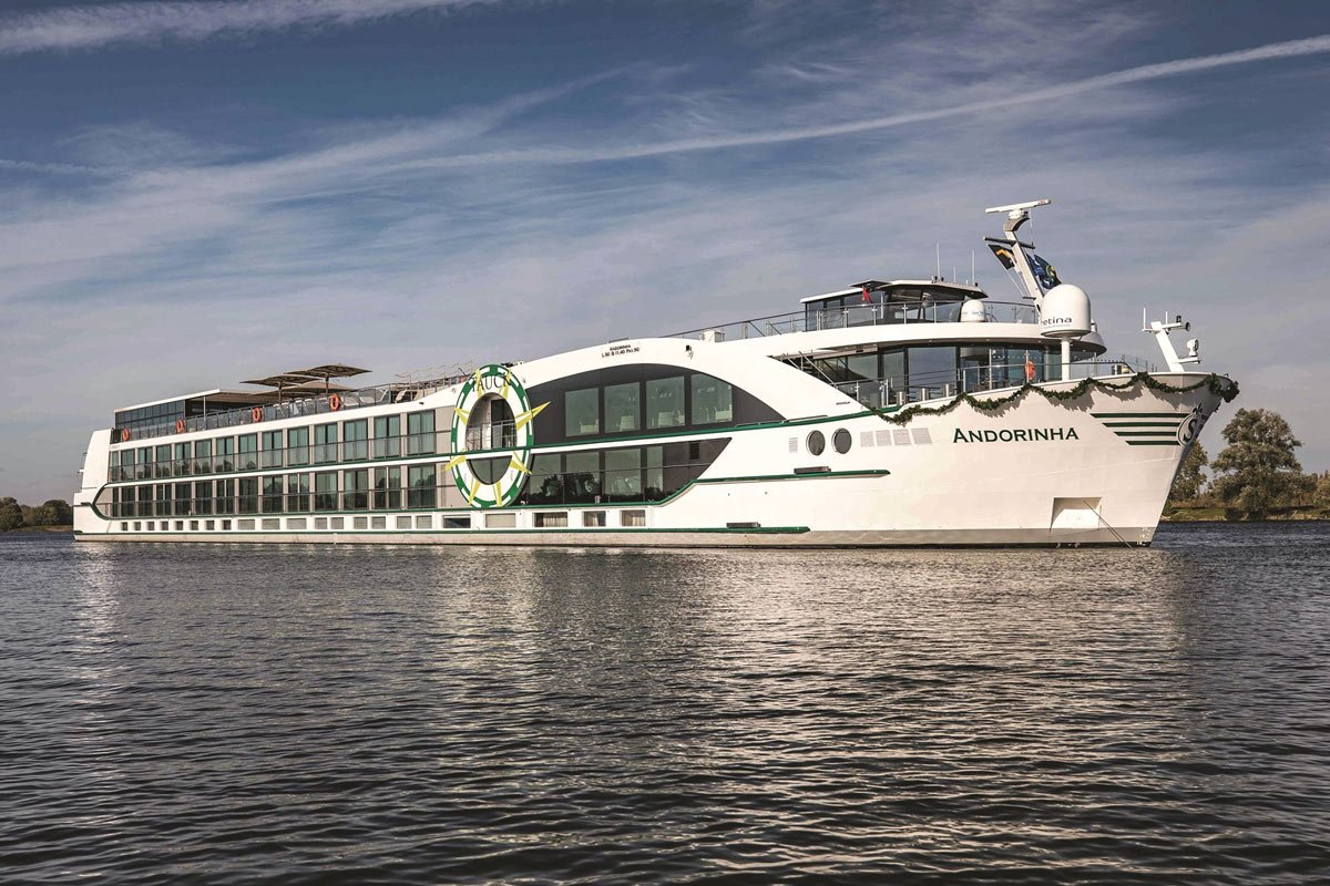 Tauck's deluxe new ms Andorinha is a high-tech new river ship debuting in Portugal in 2021.