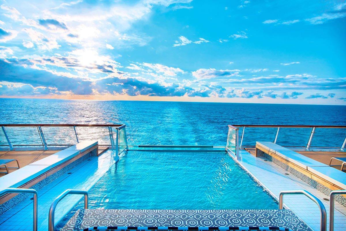 New cruise ships 2021: Viking Ocean Cruises' new ships have cool pools at the stern.