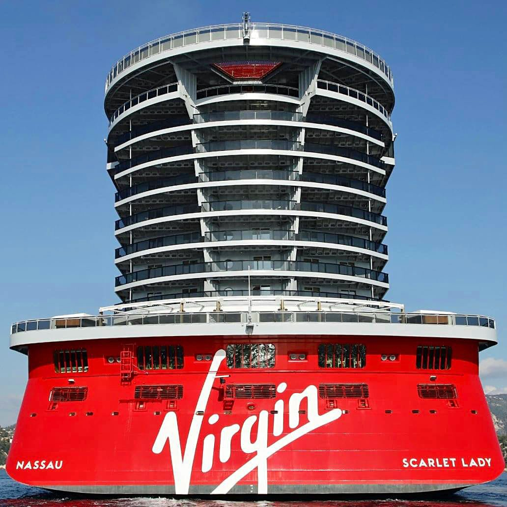 Virgin's new Scarlet Lady offers a hip new twist on cruising.