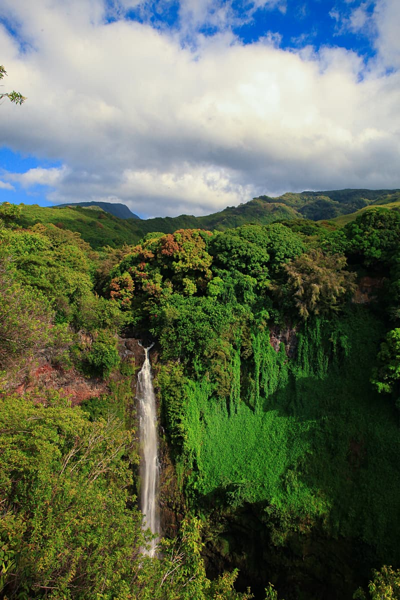The best waterfall in Maui? Waimoku Falls gets our vote