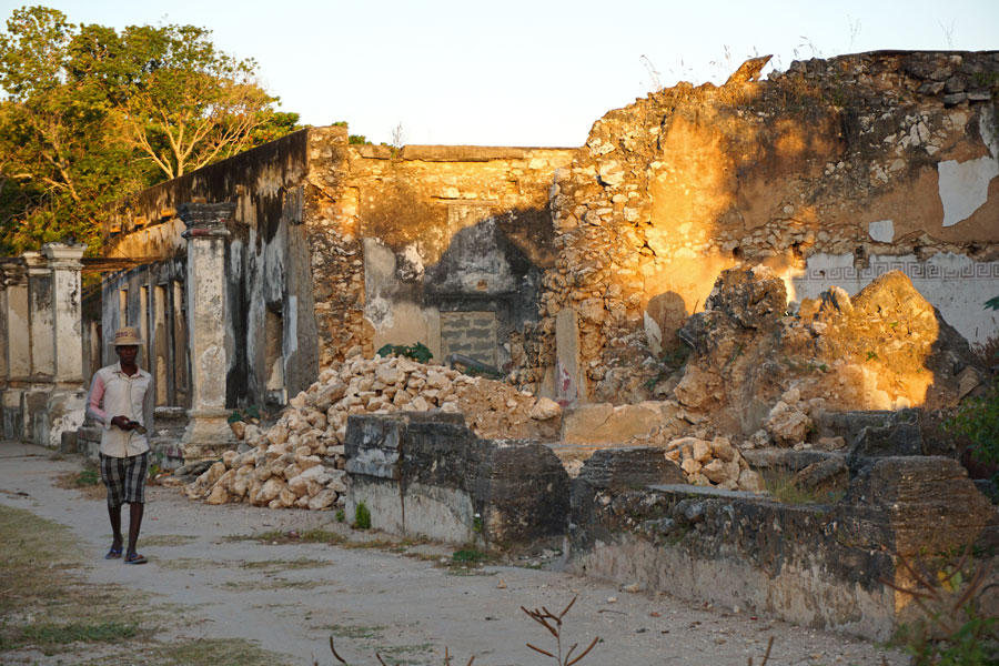 The ruins on Ibo Island are quite haunting.