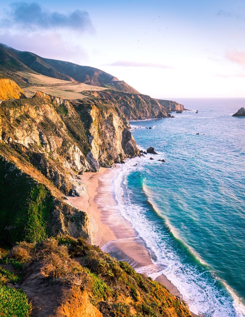 The Big Sur is one of the most stunning stretches of coastline in Northern California.