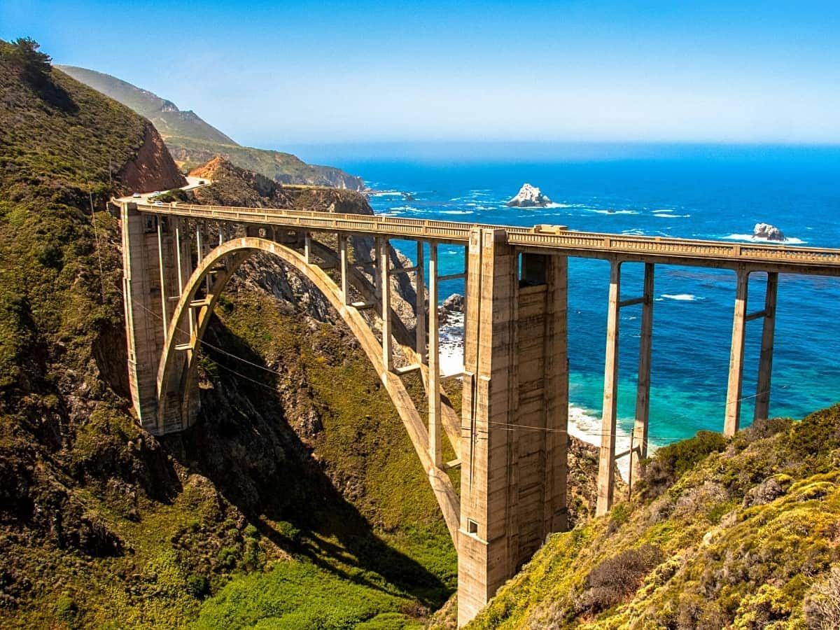 One of the most iconic attractions on the Pacific Coast Highway is Bixby Creek Bridge