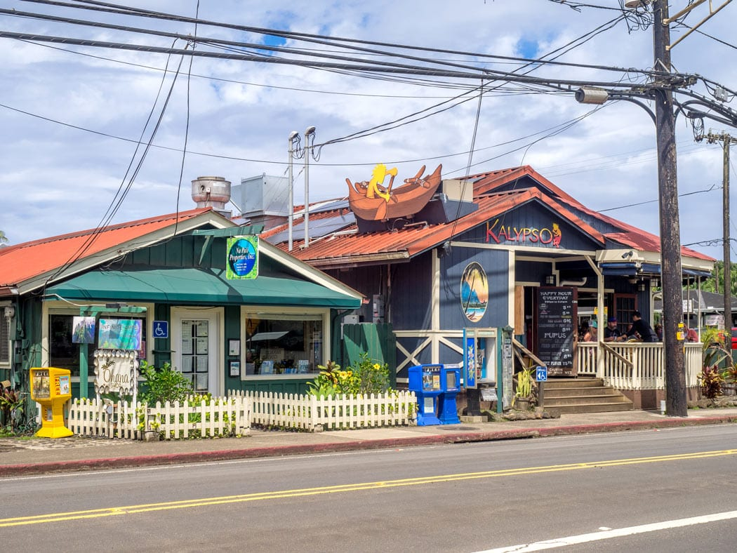 Hanalei is the cutest town in Kauai to stroll about.