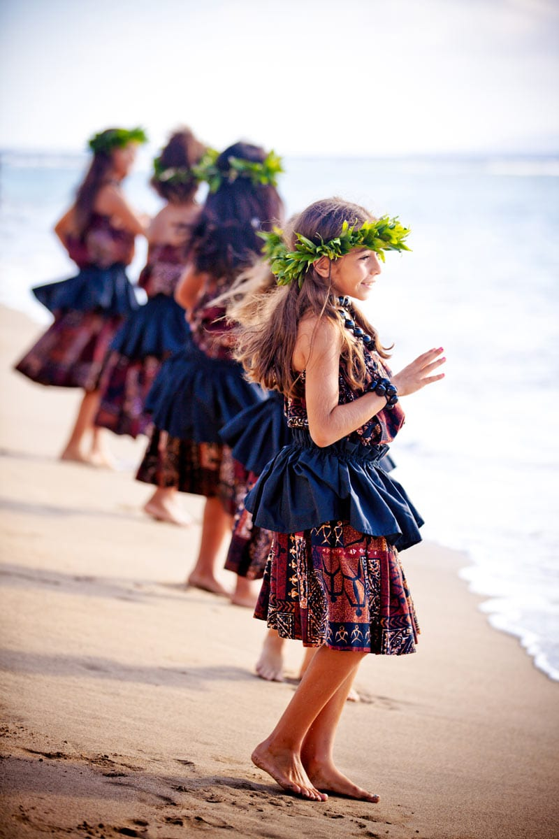 Luaus are a good place to watch hula dancers in Kauai