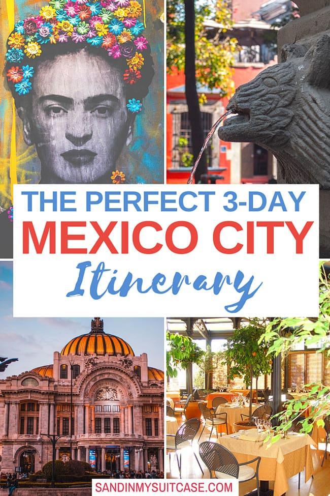 3-Day Mexico City Itinerary
