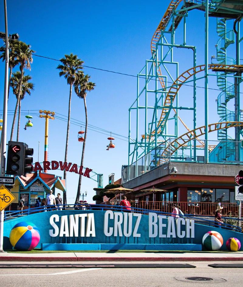 Ride a vintage wooden roller coaster and more in Santa Cruz, California