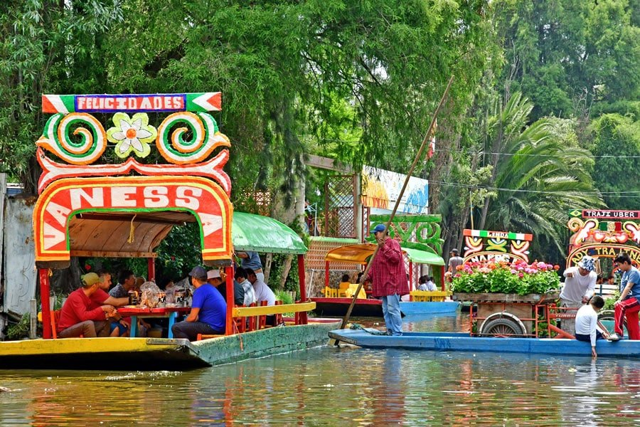 Visit Xochimilco if you have time in your Mexico City itinerary.