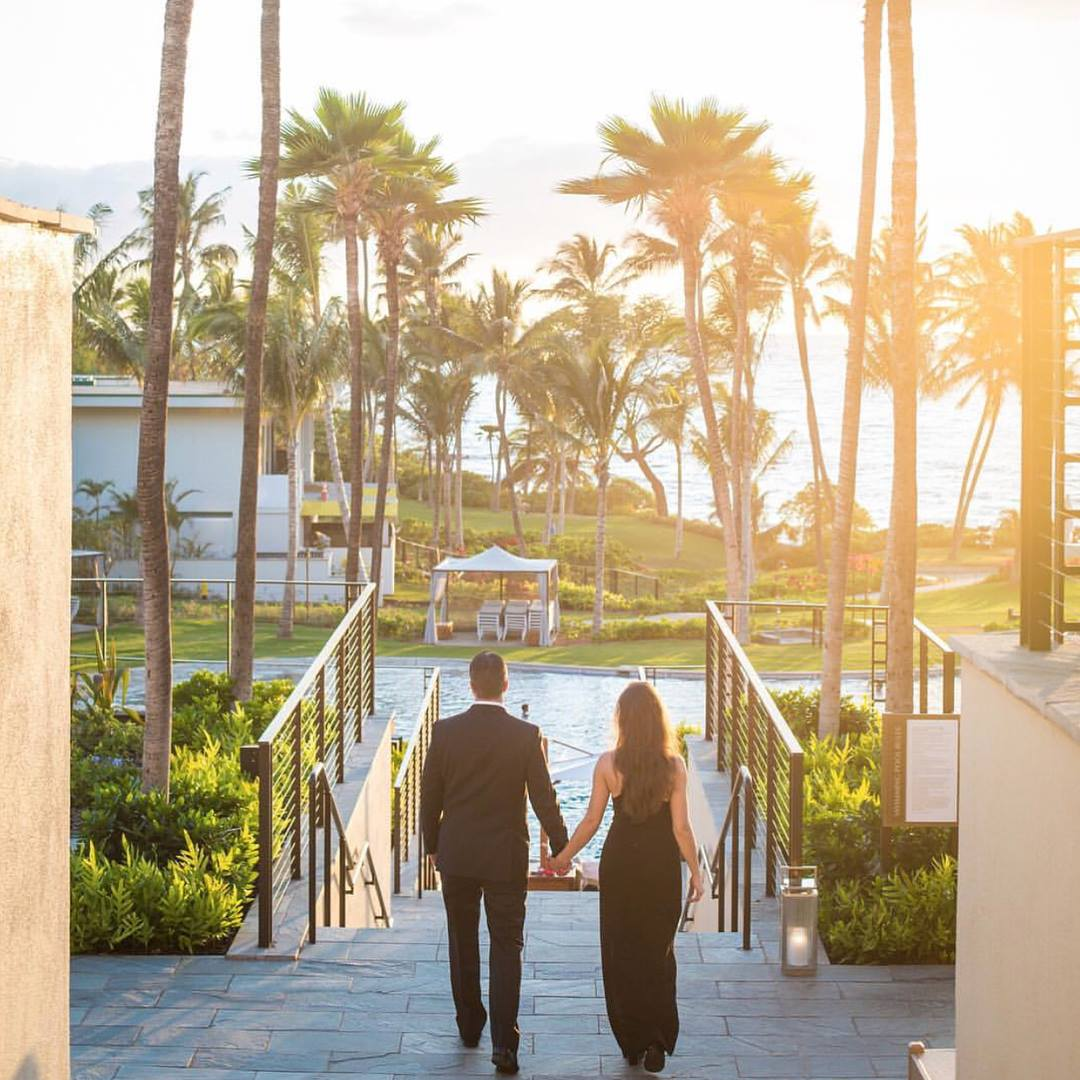 Luxurious in a very mod way, the Andaz Maui is one of the smartest hotels in Maui for couples.