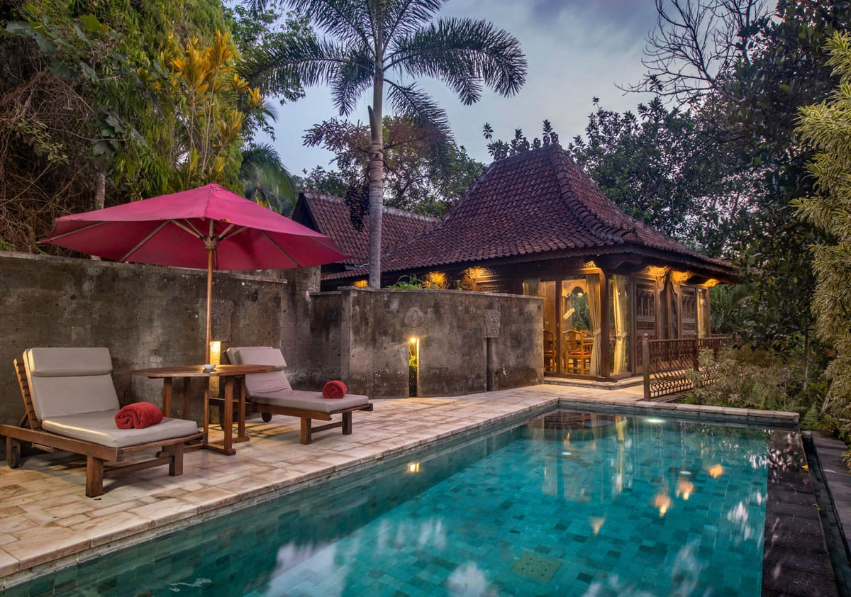 Ayung Resort Ubud is a delightful place to stay in Bali.