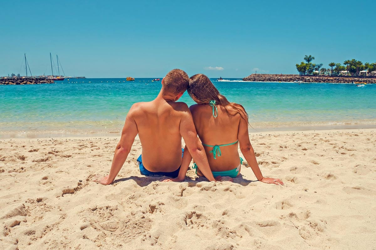 One of the most romantic things to do on Maui is to lounge on a beautiful beach together!