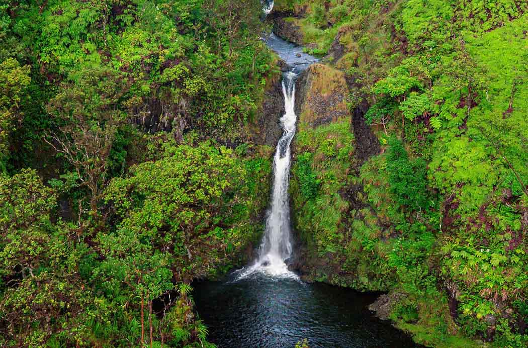 Maui is brimming with beautiful waterfalls.