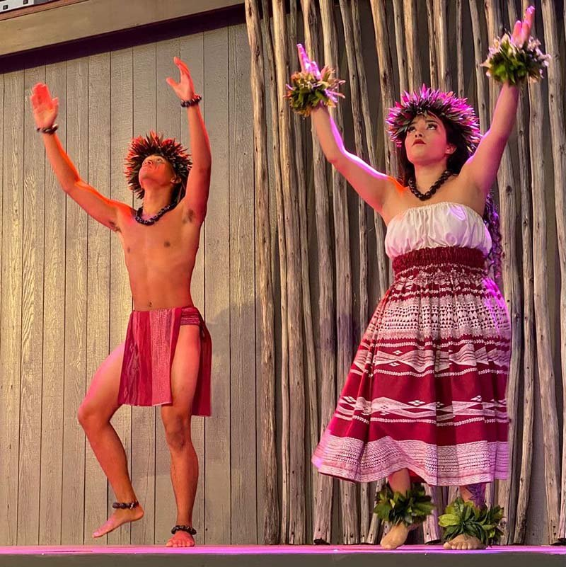 The Feast of Lele is one of the best lauas in Maui for couples.