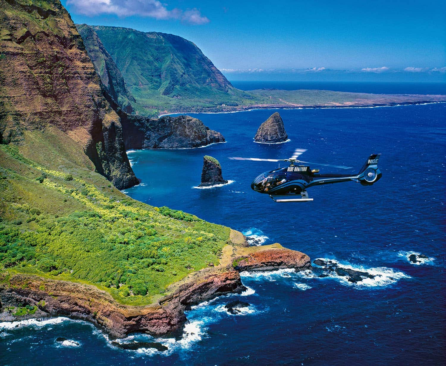 Fly over the island of Maui and appreciate its beauty on a helicopter ride.