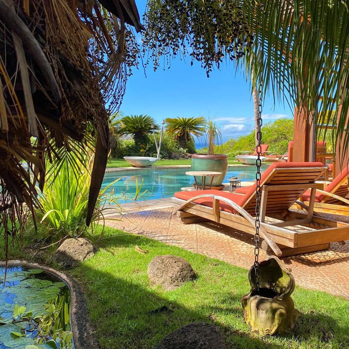 Pool at Ho'oilo House in Maui