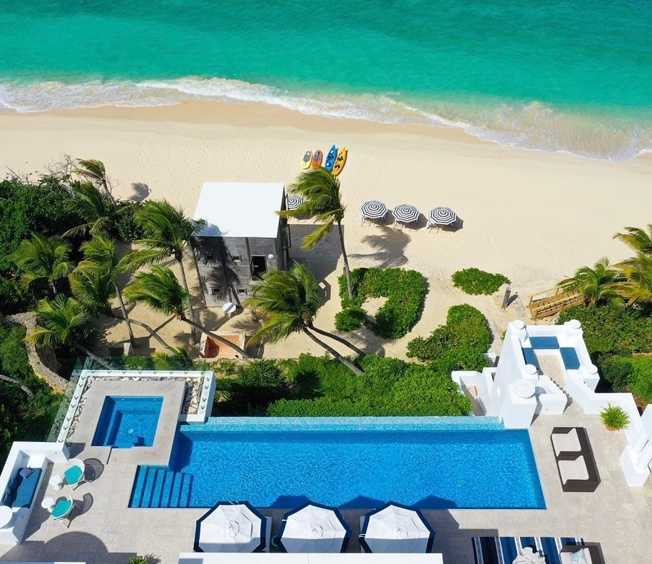 The Long Bay Villas in Anguilla are 3 of the finest luxury villas in the Caribbean.