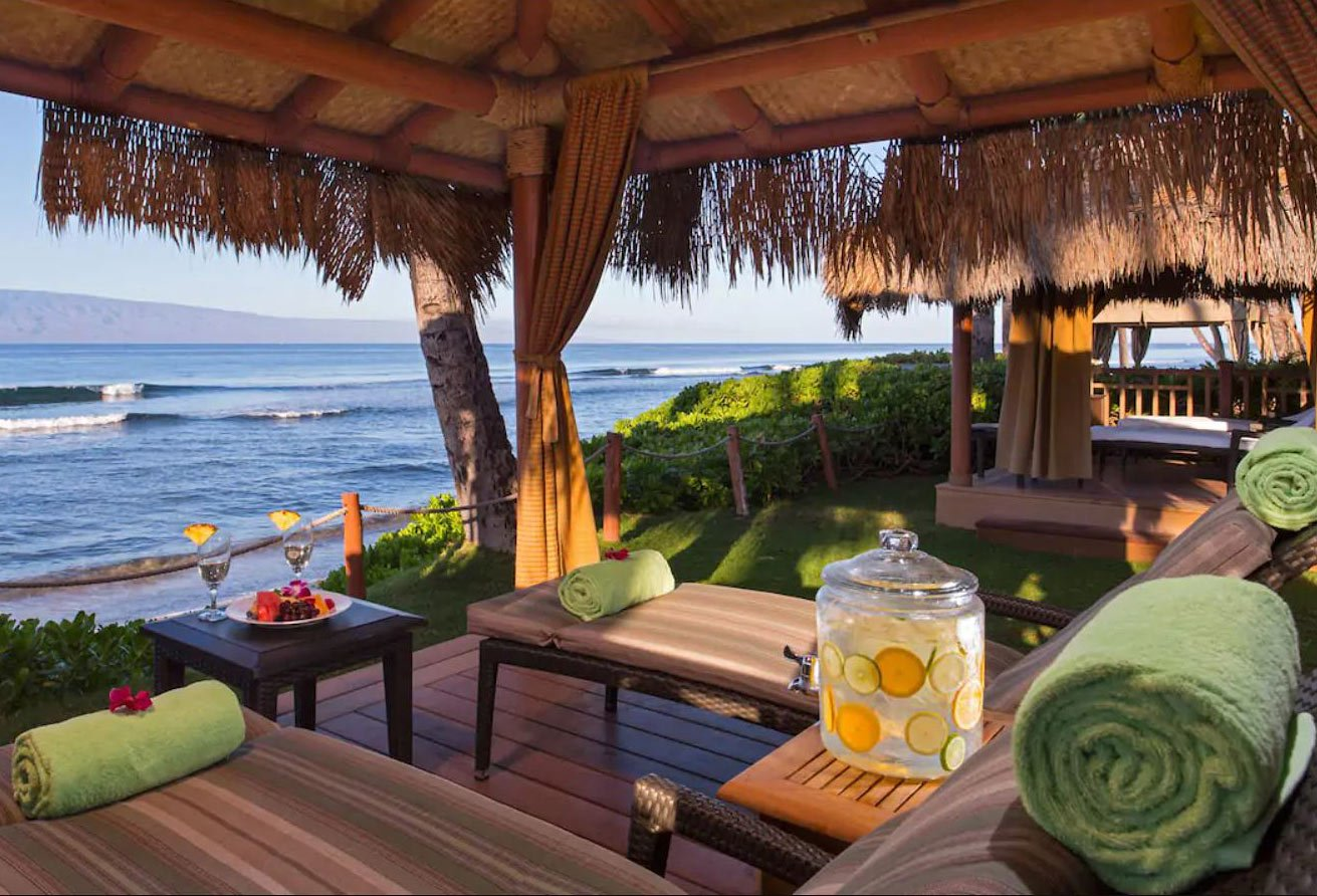 The Hyatt Regency Maui Resort (which just finished a complete reno in early 2021) is set on a lovely oceanfront property.