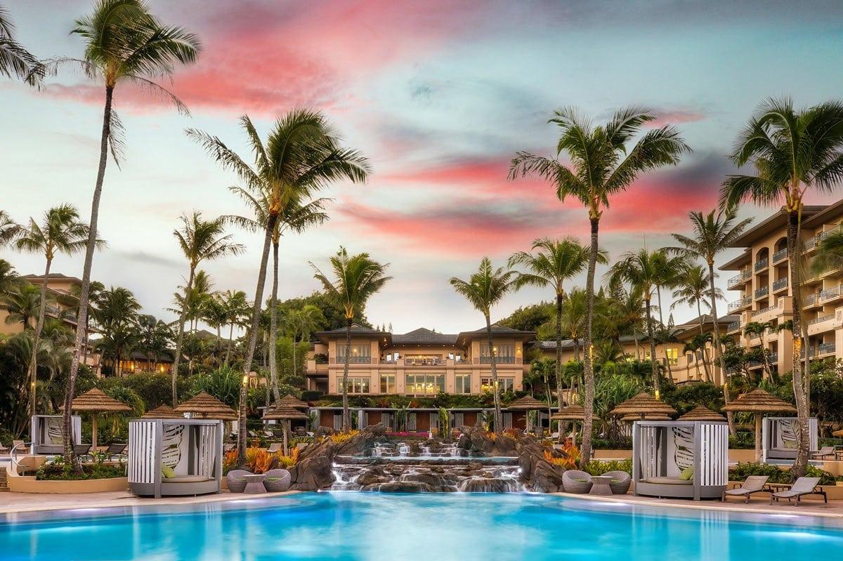 Pool at The Ritz-Carlton, Kapalua, Maui