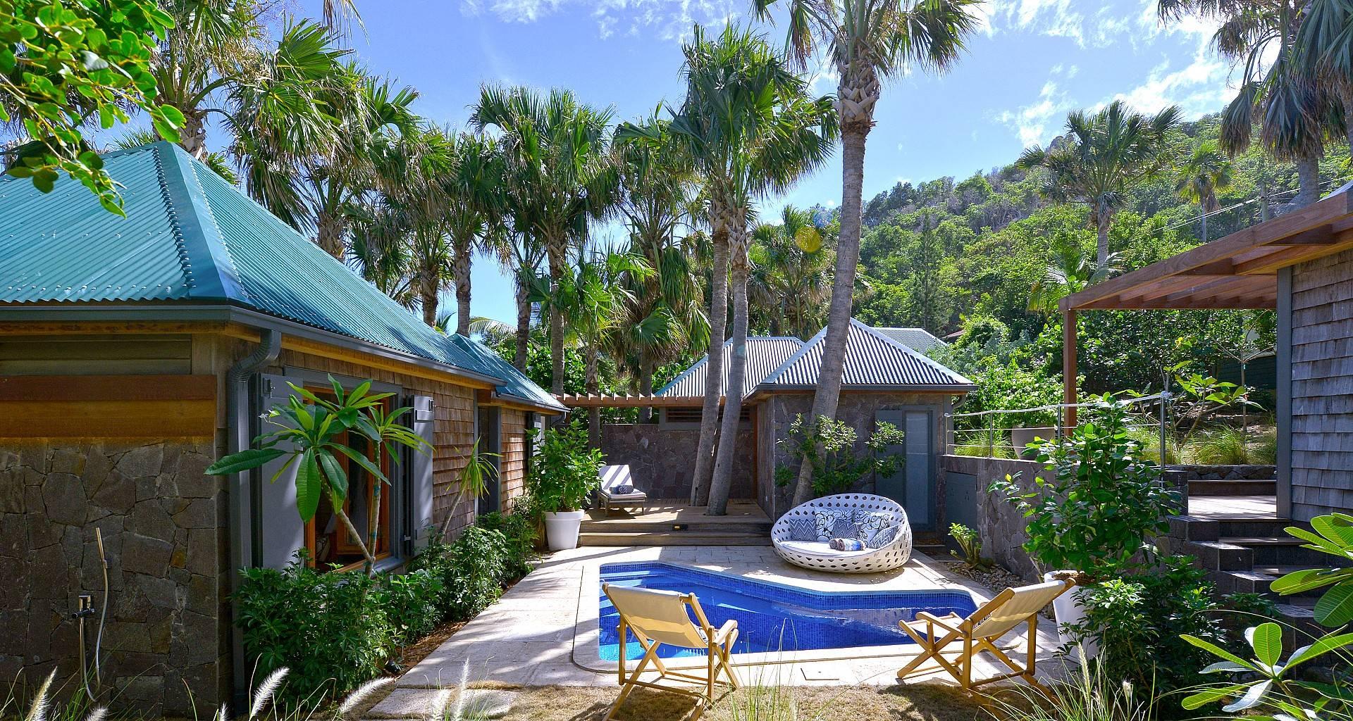Villa Palm House is a sweet 2-bedroom villa on St. Barts.