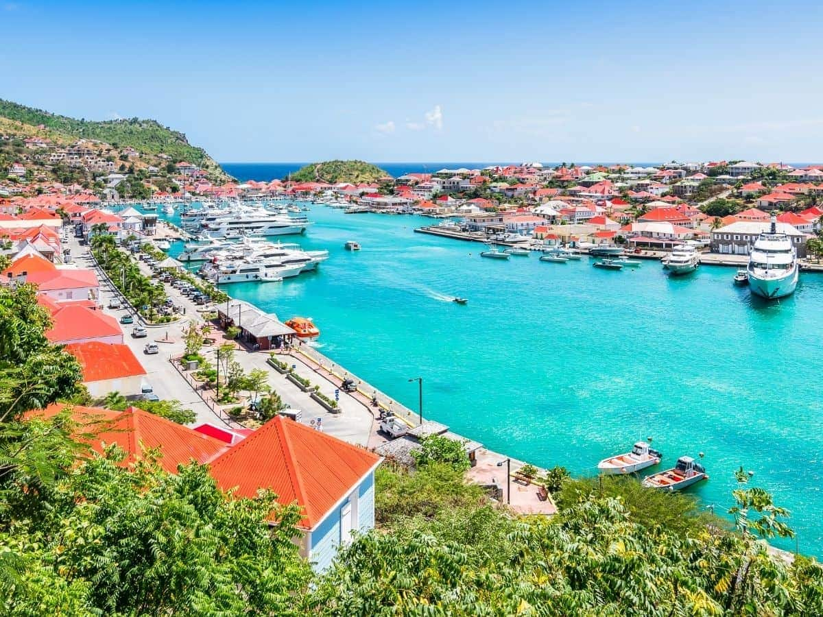 The French-influenced island of St. Barts has some of the fanciest vacation villas in the Caribbean.