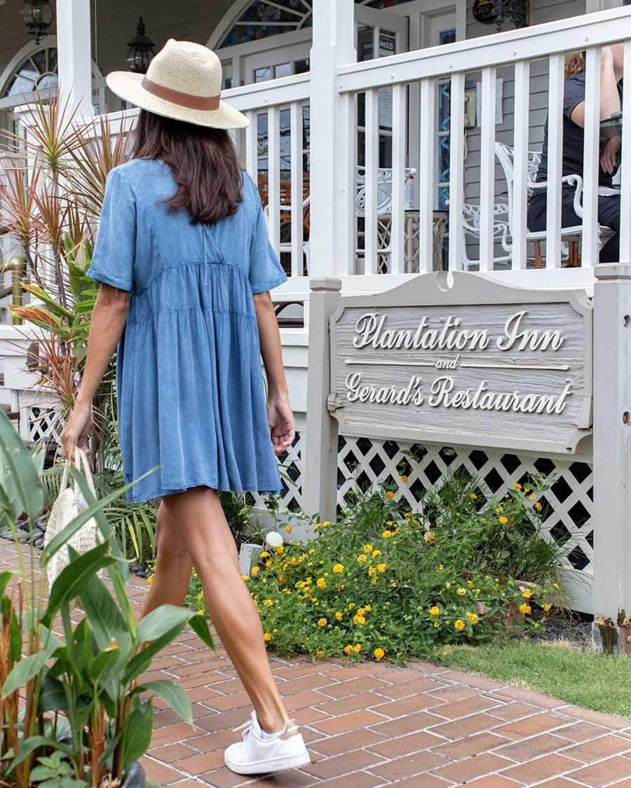 The Plantation Inn is a romantic bed-and-breakfast in Lahaina, Maui.
