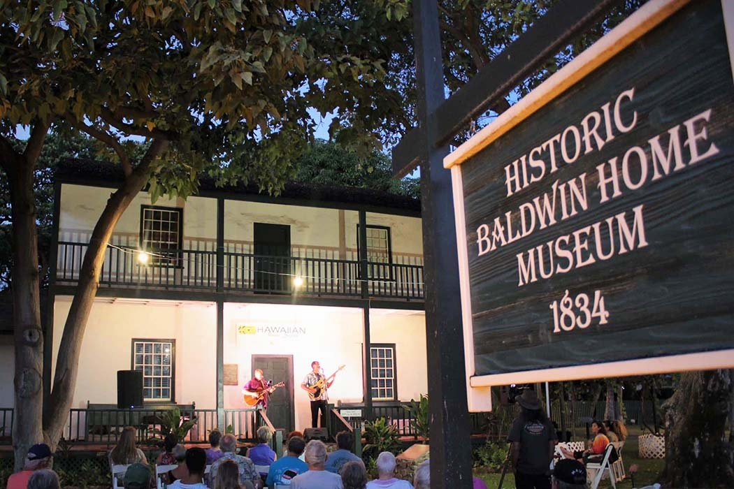 Couples who enjoy history tales will like touring the Baldwin home in Lahaina.