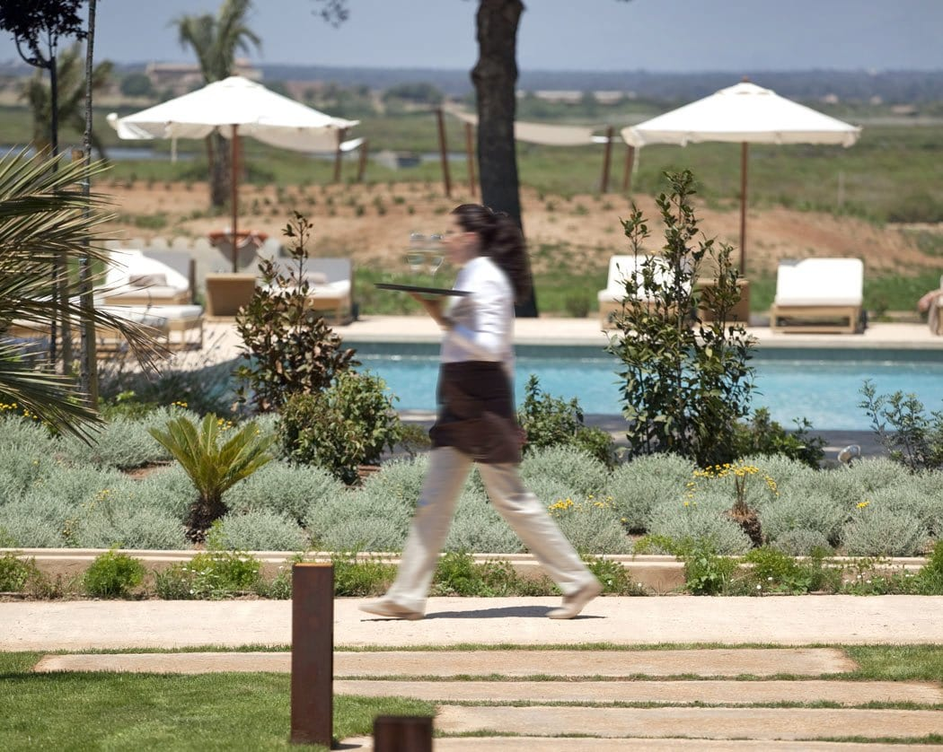 One of the best hotels in Majorca for couples, the adults-only Fontsanta offers a peaceful escape in the countryside.