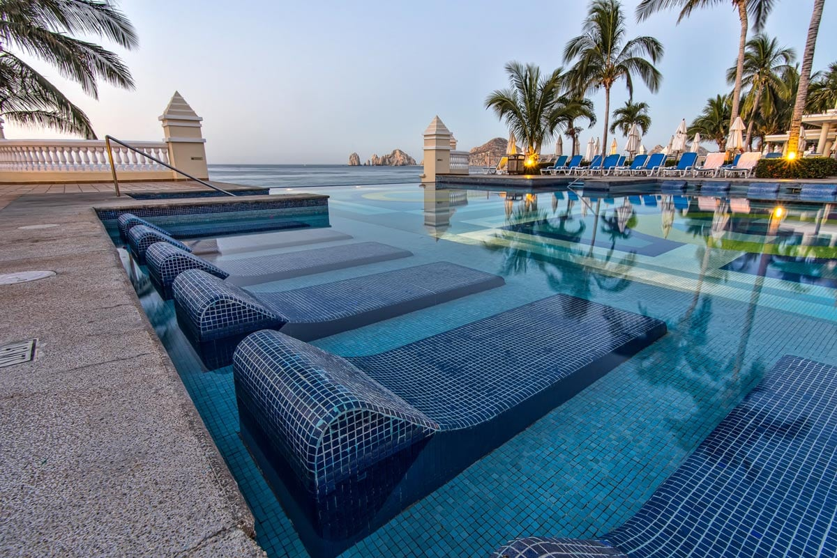 Visit Cabo in August or September and you might have the pool all to yourself!