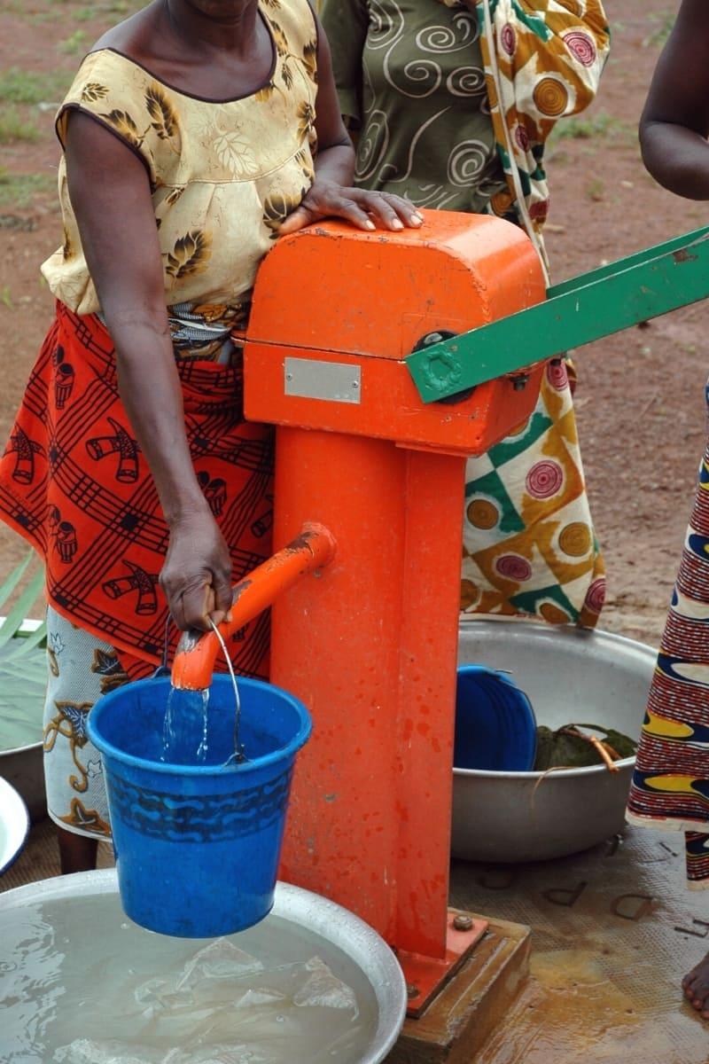 Clean water is a precious commodity in lots of places – don't waste it.